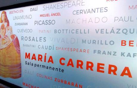 Apàriencia exterior de la casa del Arte de Peñaranda de Bracamonte, realizada por Mares Virtuales