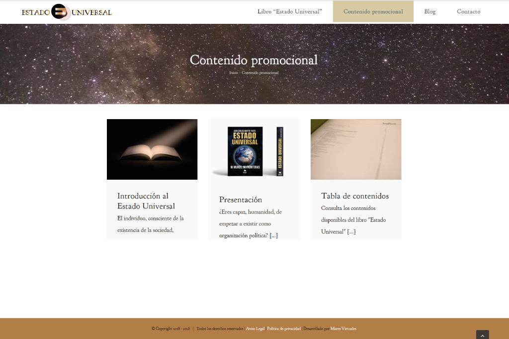 Web El Estado Universal