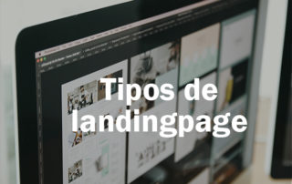 Tipos de landing page