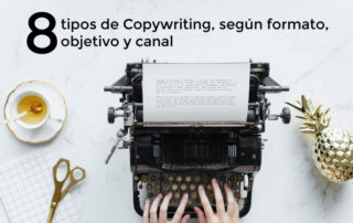 8 tipos de copywriting