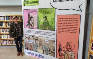 Exposición Contando en Viñetas Paco Roca