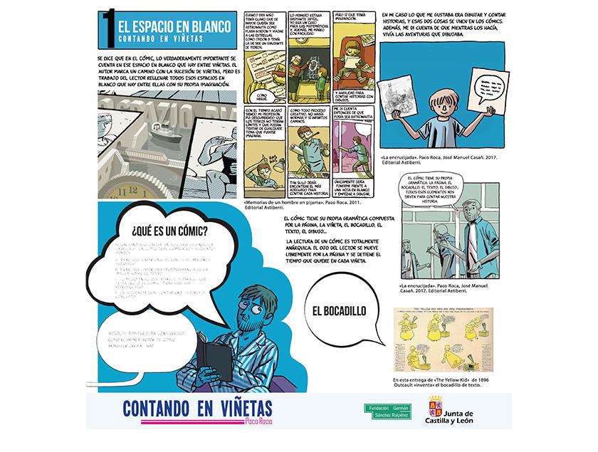 Contando en Viñetas - Exposición Paco Roca 1