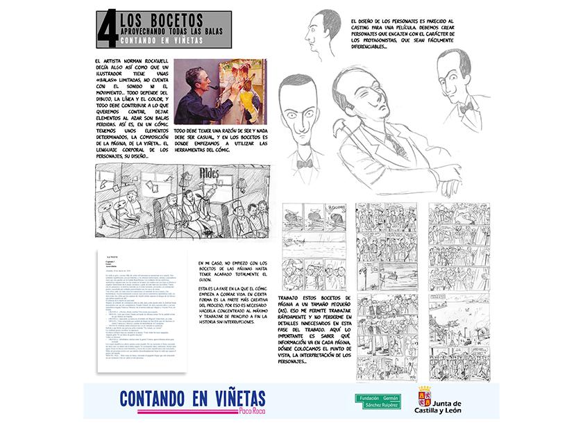 Contando en Viñetas - Exposición Paco Roca
